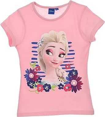 Frozen - Camiseta de manga corta de Frozen (4 a 8 años)