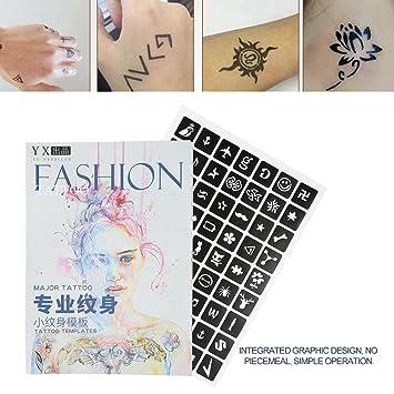 Tattoo Airbrush Vorlage Semi Permanente Kleine Glitter Tattoo