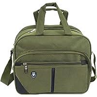 Storite Cross body Travel Office Business Messenger Shoulder Bag For Men Women -Horizontal Olive