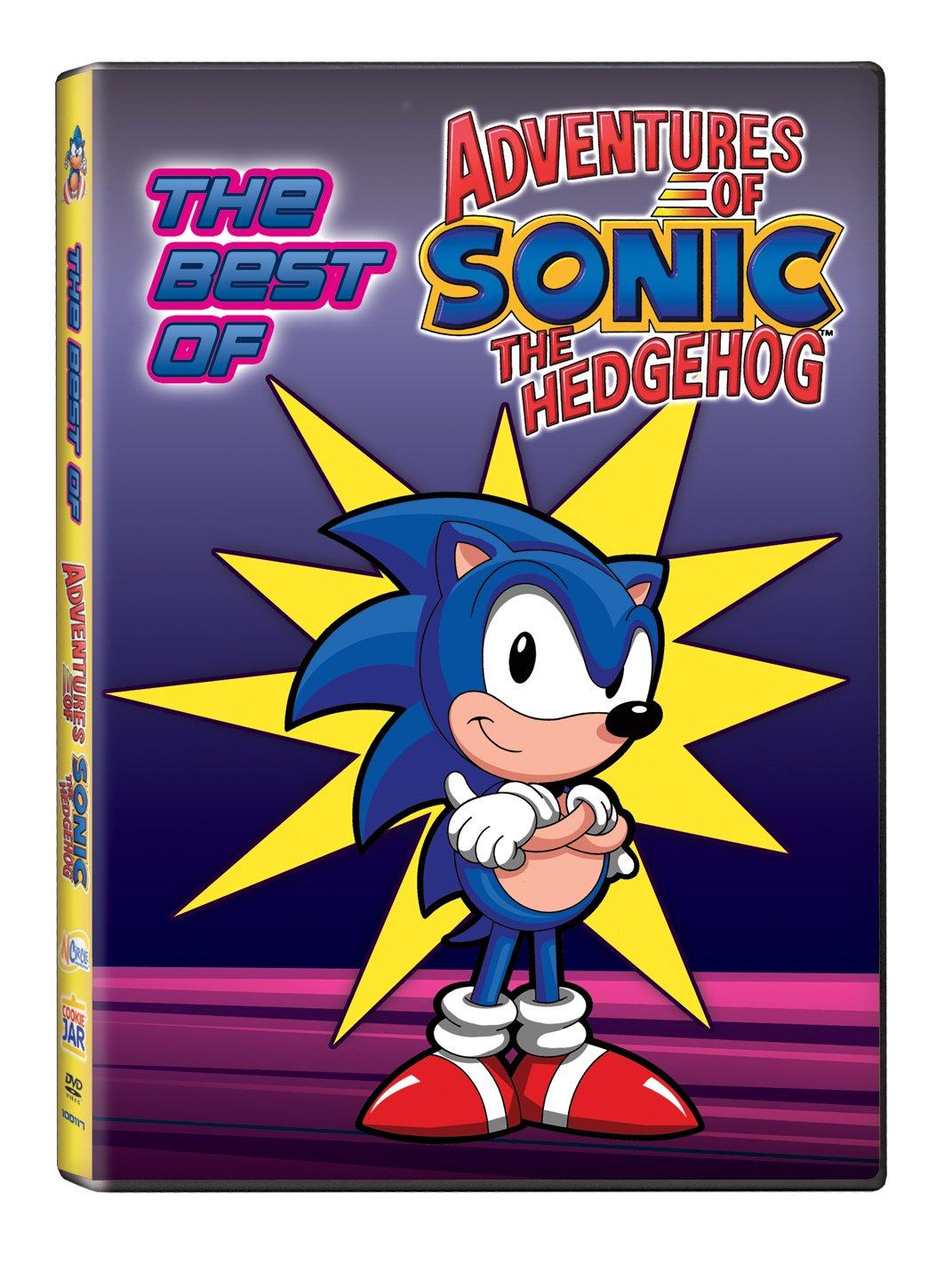 Amazon Com Best Of The Adventures Of Sonic The Hedgehog Sonic Sonic The Hedgehog Movies Tv