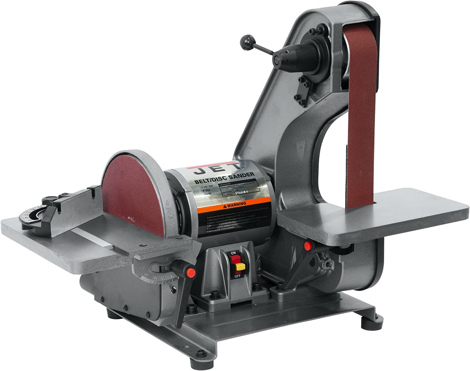 Jet J-41002 Bench Belt and 8-Inch Disc Sander