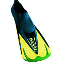 Seac Team full foot short fins ultra light ideal for swimming, snorkeling or aquatic activity