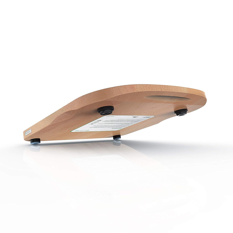 Tabla de base para TM5 o TM31 de ThermosSider H (madera maciza, impermeable, deslizante) 30 x 36 x 2,7 cm Buche (für Tm5): Amazon.es: Hogar