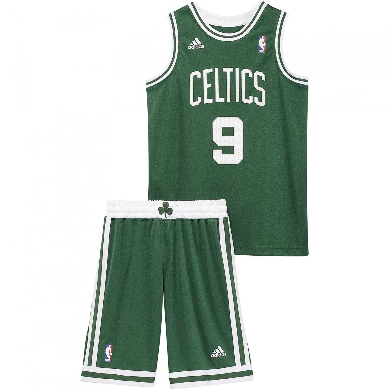 adidas Ajuste Balón de Baloncesto NBA Boston Celtics, Color Verde ...
