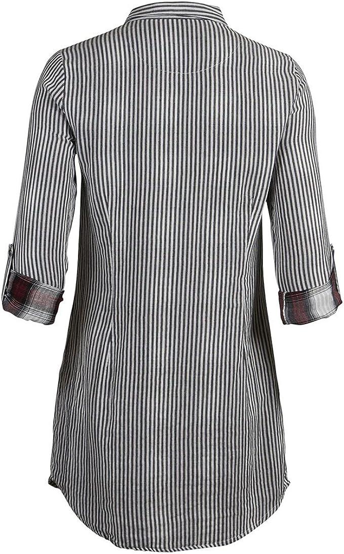 VIVECTOR L/S Shirt - Camisa para mujer, color gris (pristine ...
