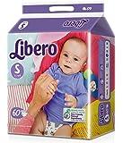 Libero Small Size Open Diaper (60 Count)