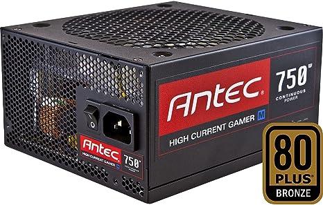 Alimentatore Completamente Modulare da 750W Nero ANTEC HCG-750-GOLD