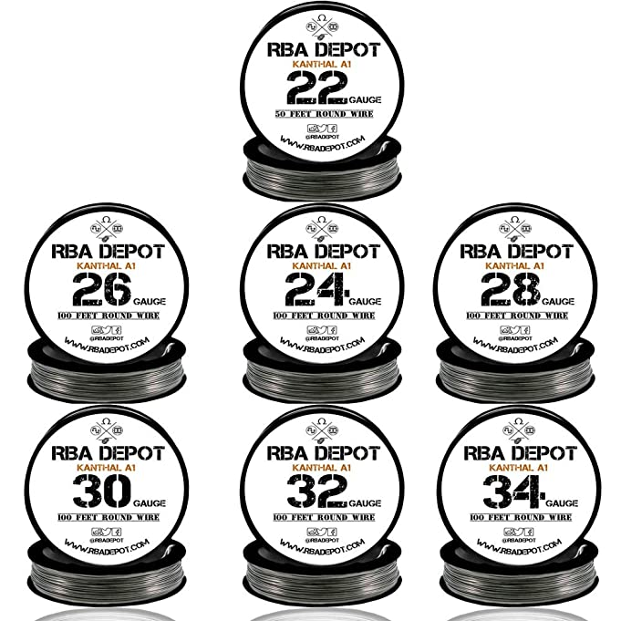 Modern 26 gauge kanthal wire frieze electrical chart ideas gauge kanthal a1 wire unicorn bottle 7 pack 22 24 26 28 30 32 34 keyboard keysfo Image collections