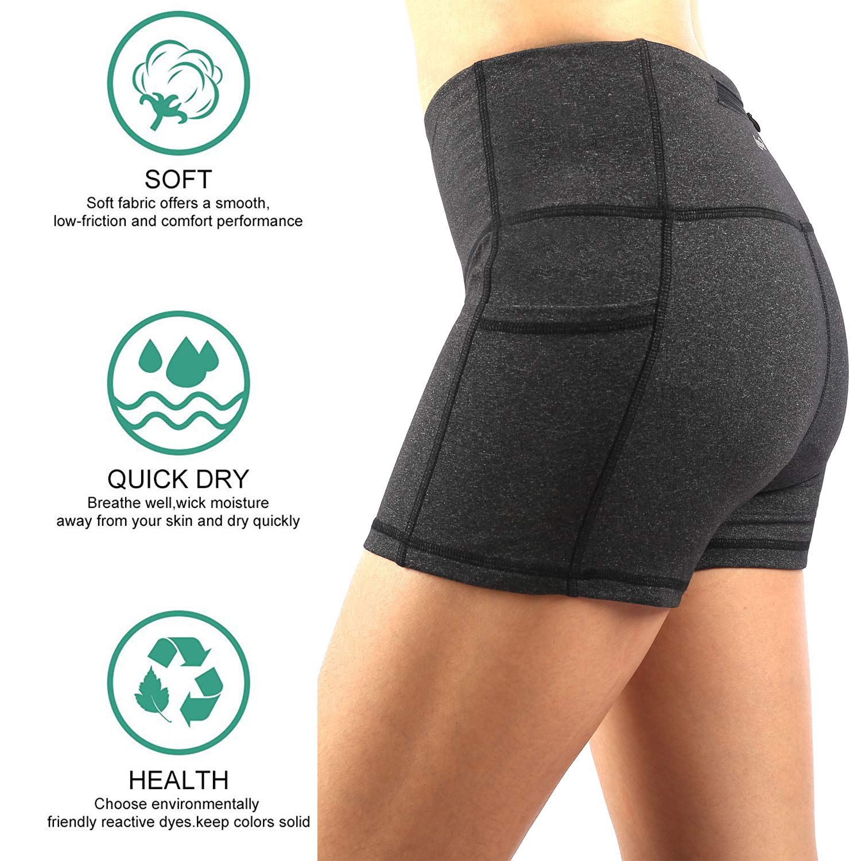 Zinmore Womens Ladies Gym Yoga Shorts Exercise Workout Short Pants Hot Shorts