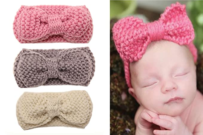 Image Unavailable. Image not available for. Color  Wehous Baby Girl s  Headbands Turban ... 5fc32293928