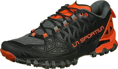 La Sportiva Bushido II Zapatillas de Trail Running Carbon/Tangerine