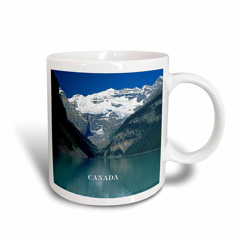 Multicolor 3dRose mug/_80579/_2Canadas Beautiful Lake Louise Ceramic Mug 15 oz
