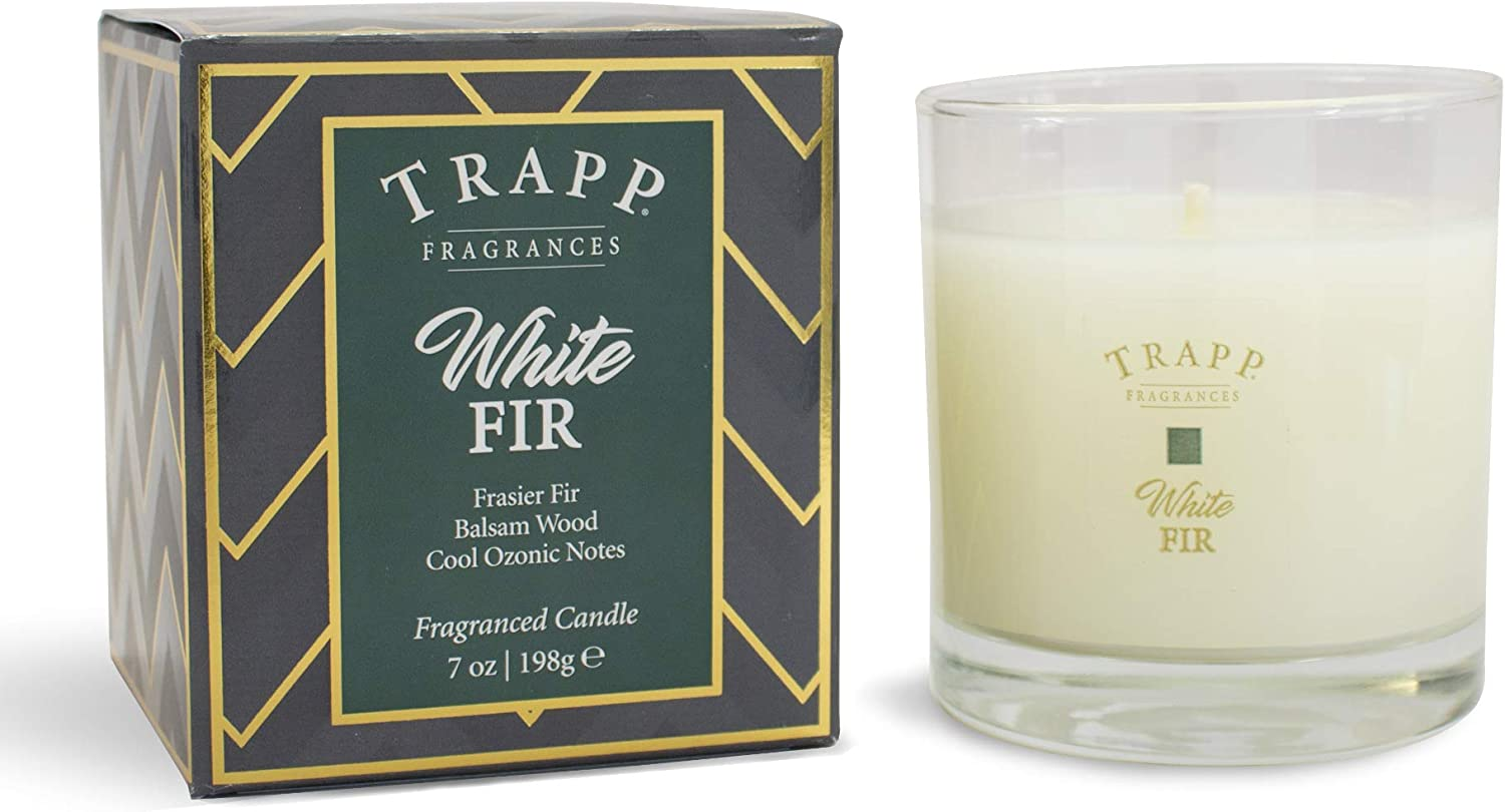 Trapp Limited Edition Seasonal Poured Scented Candle No. 56 White Fir, 7 Ounce
