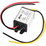 DROK Buck Voltage Reducer Converter 12V to 7.5V 3A/22W Step-down Power Module DC/DC Voltage Transformer Regulator Power Supply Board for LED Display Radio