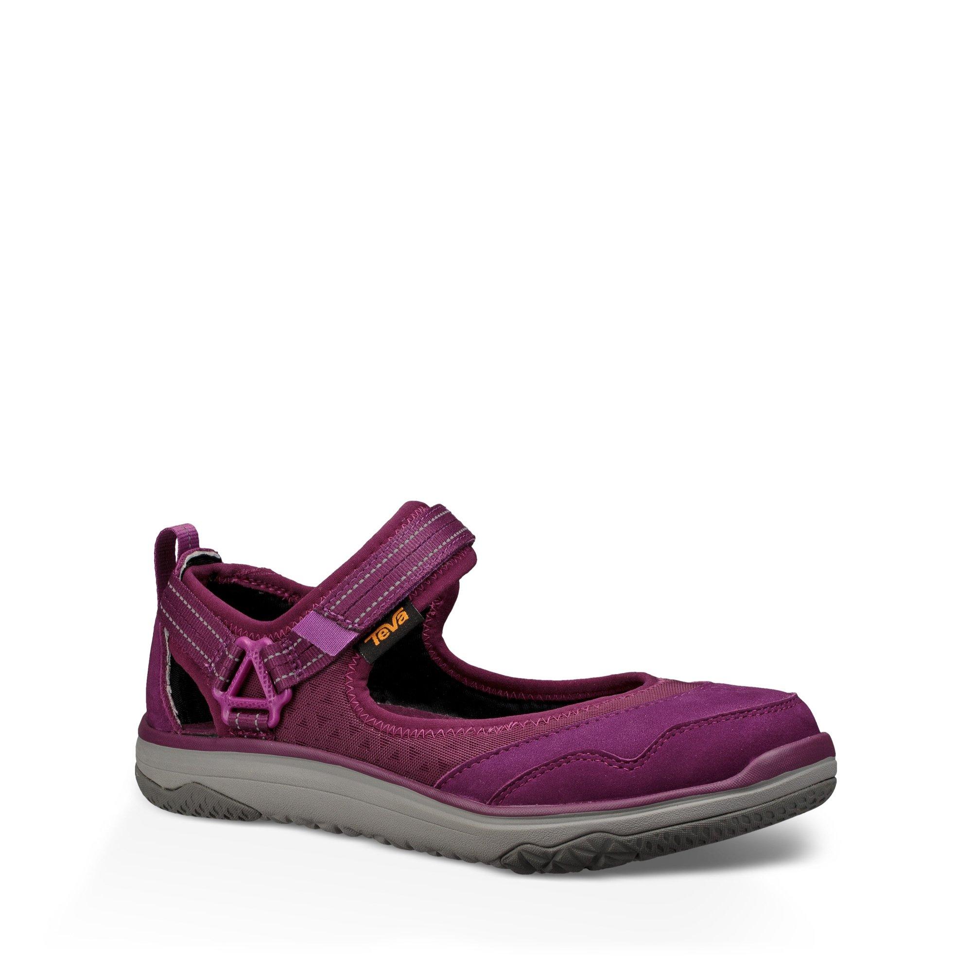Teva TerraFloat Travel MJ Sandal Women's Hiking 8 Dark Purple