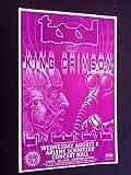 Tool King Crimson Maynard James Keenan Robert Fripp Gig Flyer Concert Poster