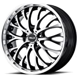 "Helo HE890 Gloss Black Wheel with Machined Face (20x8.5""/5x112mm, +35mm offset)"