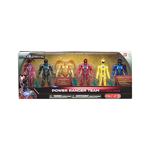 power rangers team with goldar 6pack: Amazon.es: Juguetes y ...