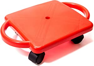 Educational Manual Plastic Scooter Board with Safety Handles | 16