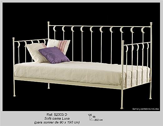 Art-Domus - 52303 - Sofa Cama Luna. Colchón Y Someir No Incluidos ...