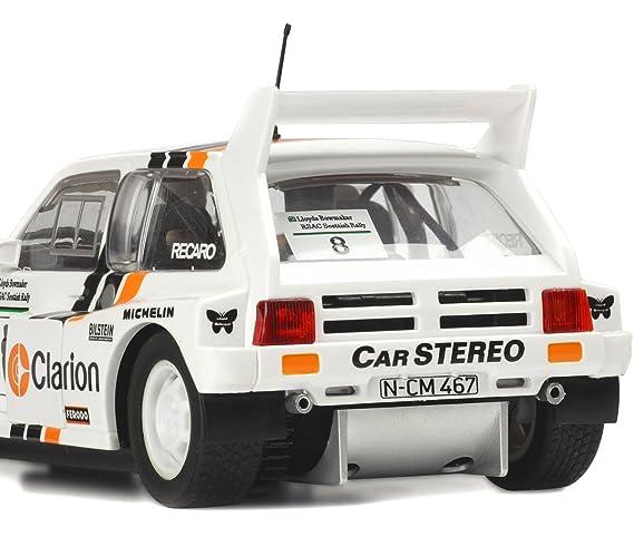 Amazon.com: Scalextric C3306 MG Metro 6R4 Vehicle, Scale 1/32: Toys & Games