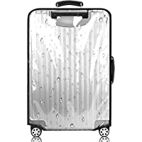 PVC Luggage Protector Cover Clear Suitcase Cover Protector Transparent Protective Case Cover…