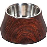 Dogit Design Faux Wood Bowl for Dogs