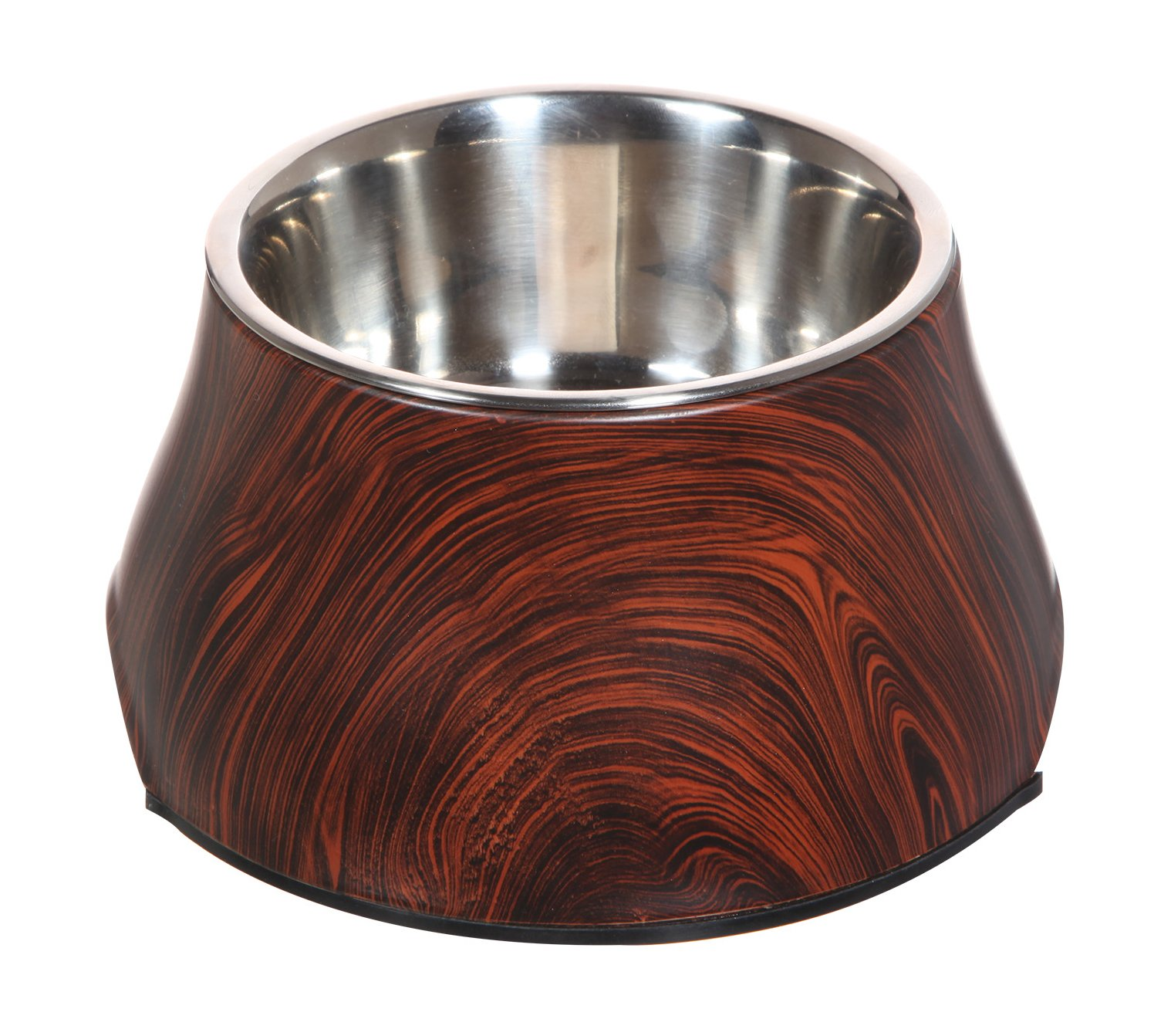 Dogit 73775 Design Faux Wood Bowl for Dogs