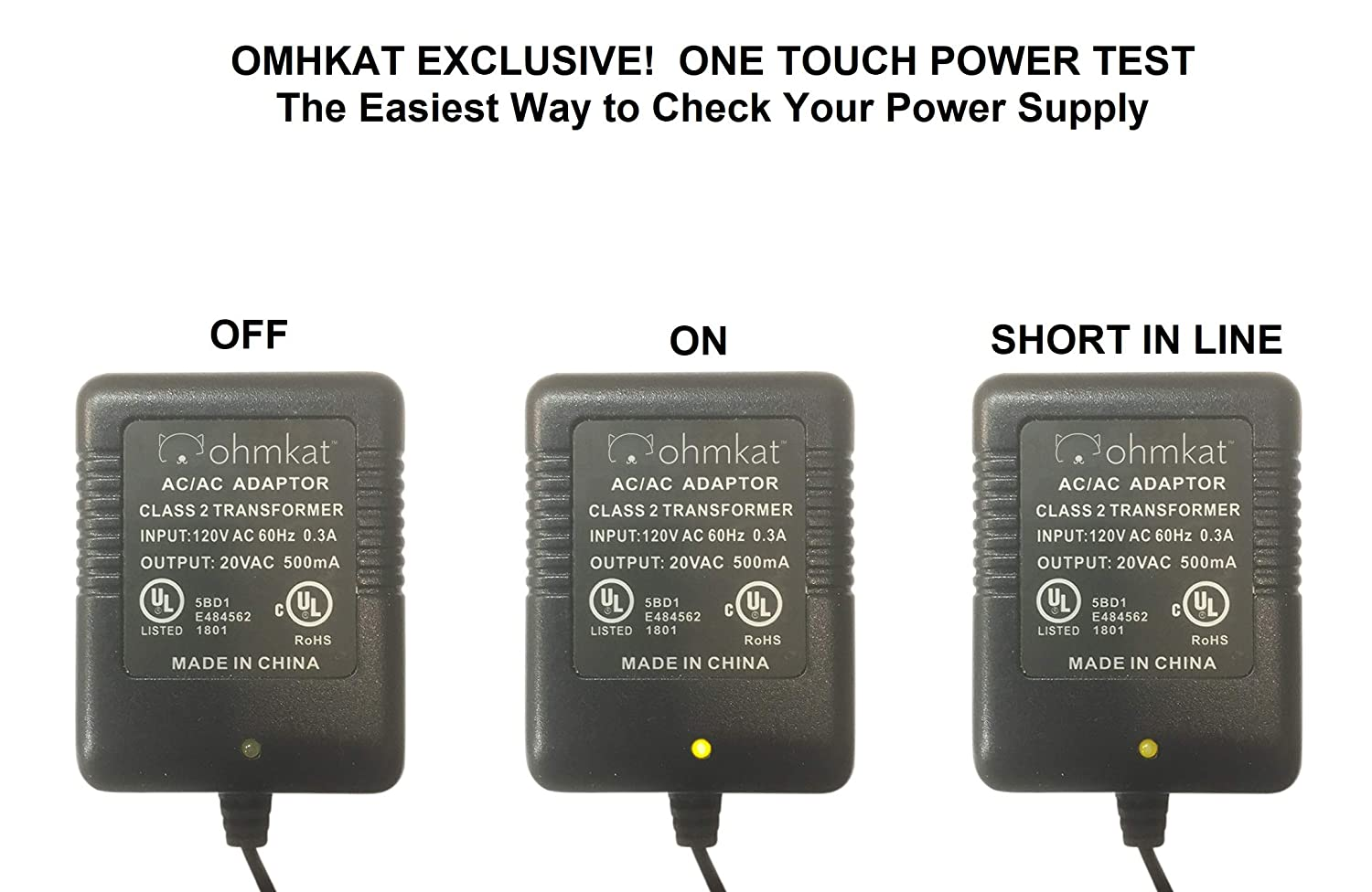 Ohmkat Video Doorbell Power Supply Compatible With Nest Hello No Lowvoltage Screws Of Your Existing Click Here For A Diagram Wiring Required Transformer Adapter Kit All In One Black