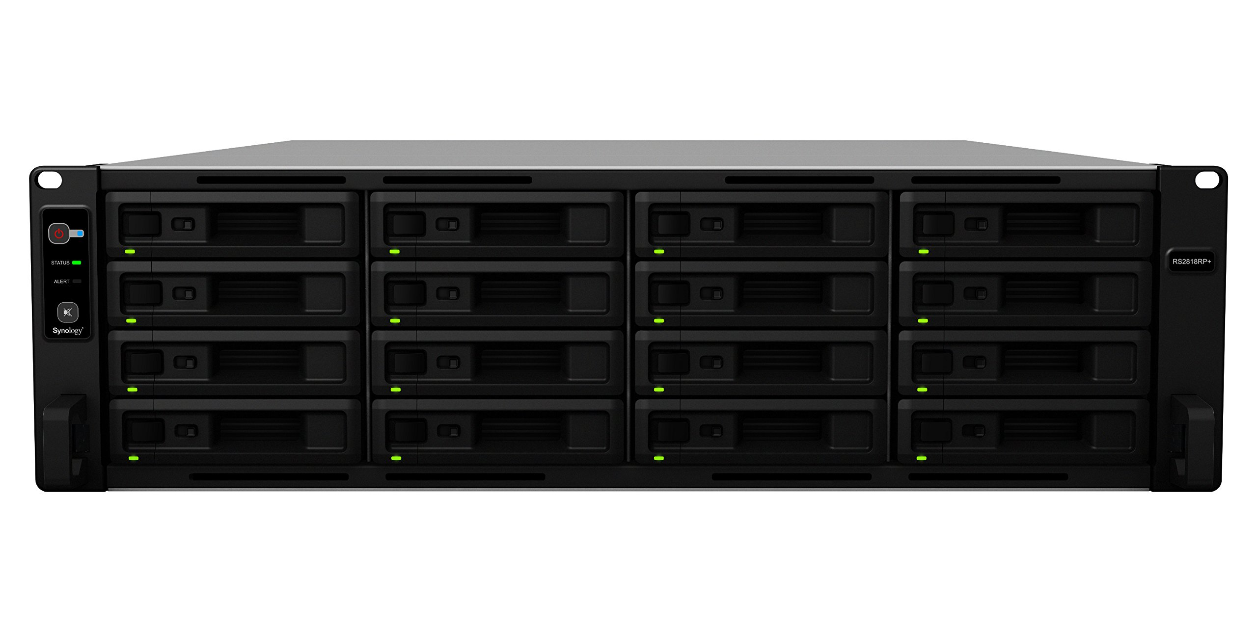 Synology RS2818RP+ 16bay NAS Rack Station (Diskless) by Synology (Image #2)