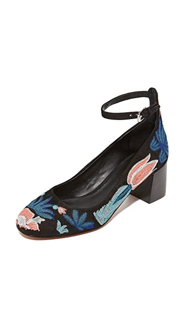 high quality buy online find great Rebecca Minkoff Floral-Embroidered Ankle Strap Pumps pay with visa for sale 8MCWvEDKDs