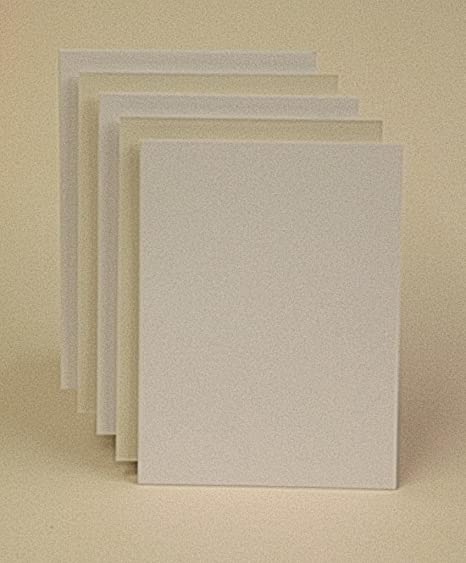 25 Piece Pack of Mount Backing Board A3