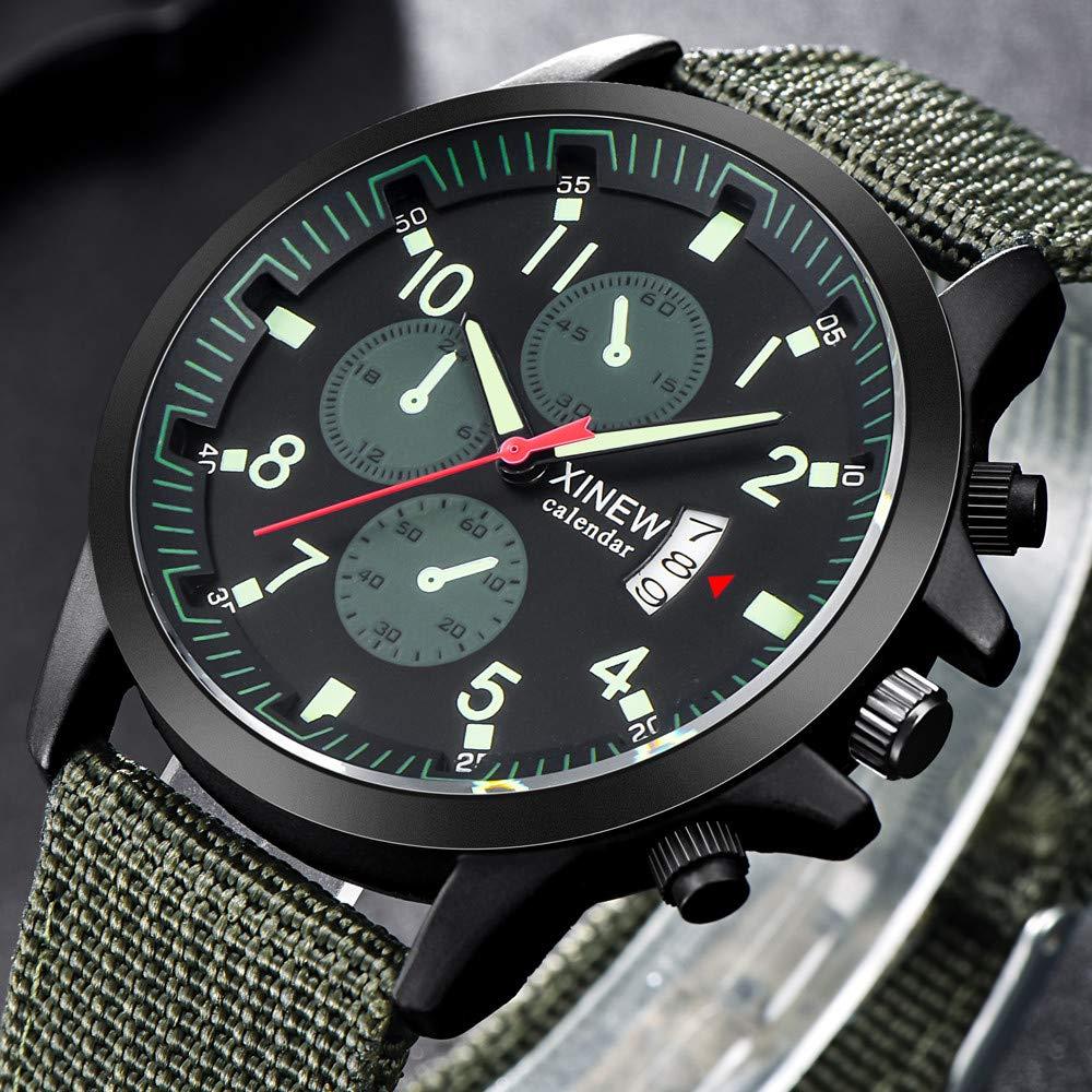 Bestow Reloj Impermeable de los Deportes al Aire Libre de los Hombres del Reloj Luminoso Reloj Despertador Luminoso: Amazon.es: Ropa y accesorios