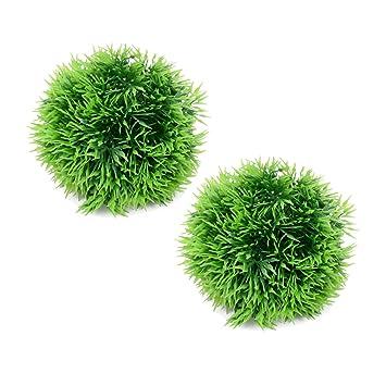Artificial Plastic Green Moss Ball Moss Marimo Ball For Ornament New Decorative Moss Balls Uk