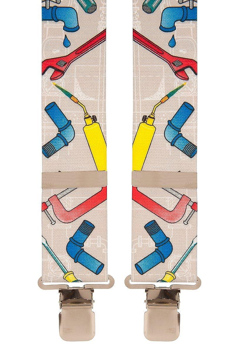 Mens Novelty Work Braces (Plumber) Brimarc Tools & Machinery