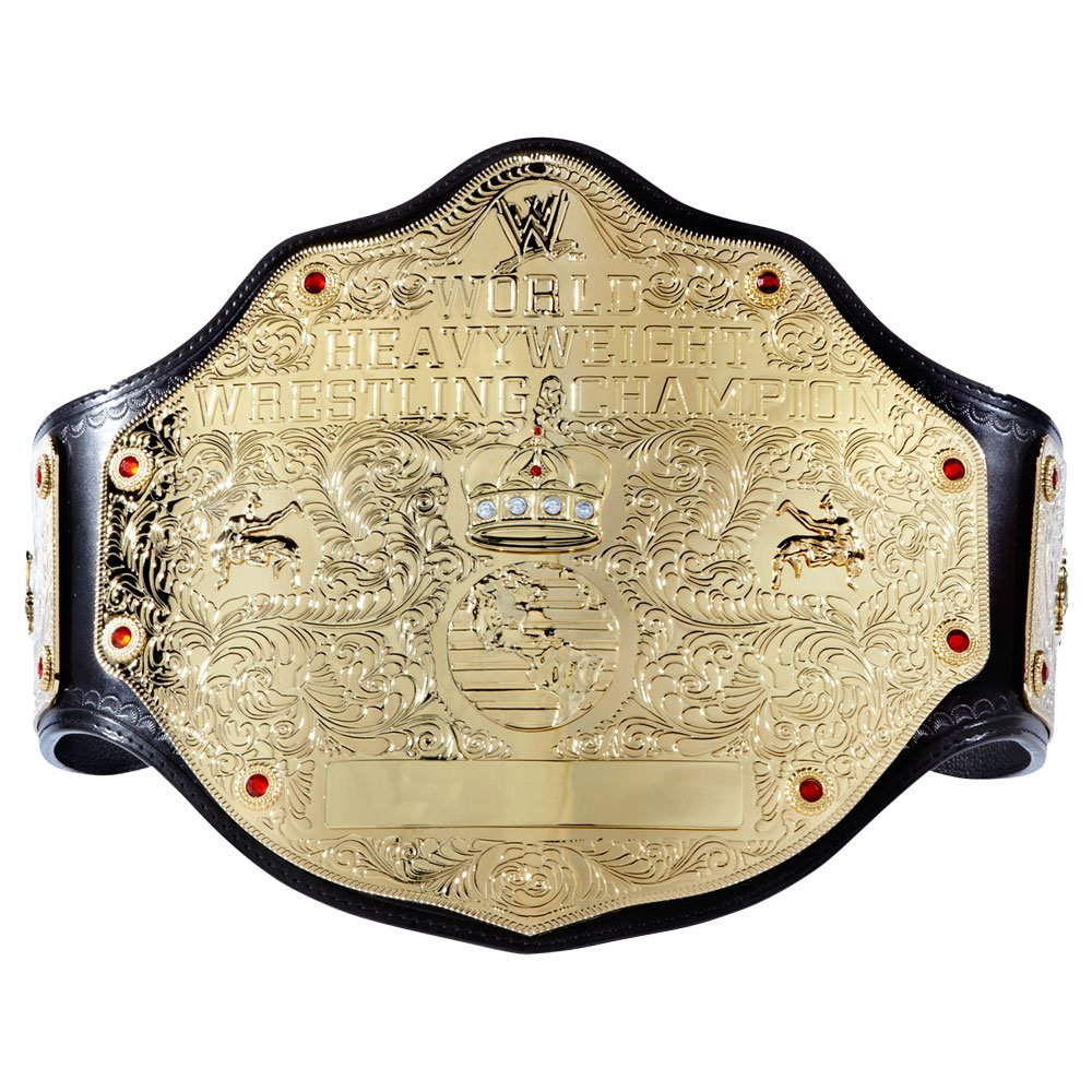WWE World Heavyweight Championship Commemorative Title Belt Small by WWE Authentic Wear (Image #1)