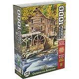 Jogo Quebra Cabeca Outono Na America 1000 Pecas Grow +10Anos, Multicor