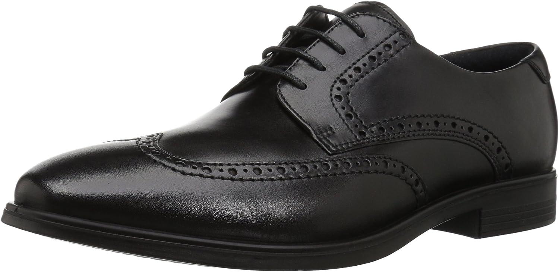 ECCO Melbourne, Zapatos de Cordones Brogue para Hombre