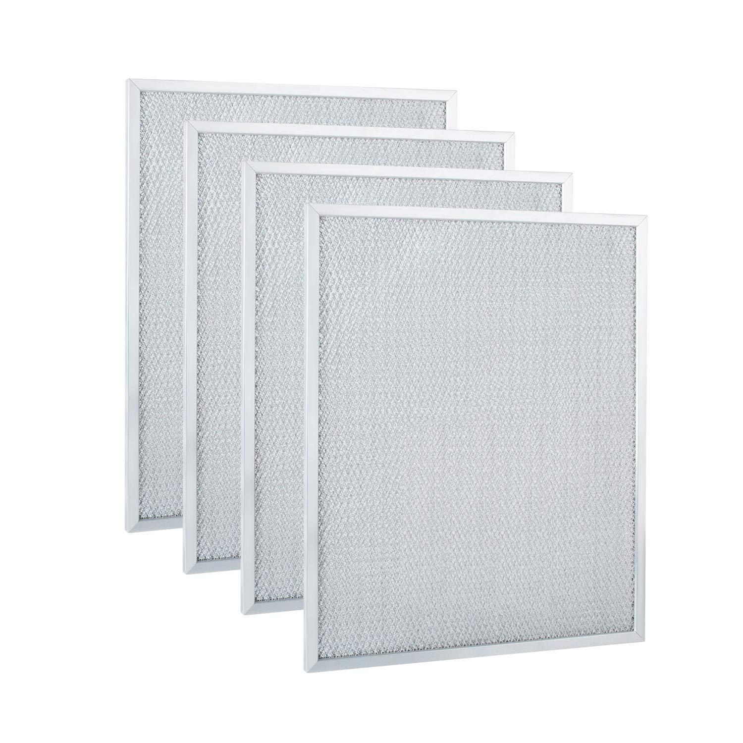 "BPS1FA30 Range Hood Filter 11-3/4"" x 14-1/4"" x 3/8"" for Broan, Nutone Compatible with 30""QS1, WS1 Aluminum Hood Grease Replacement Filter (4 Pack)"