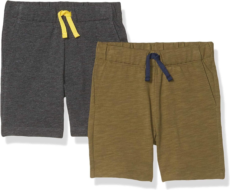 Spotted Zebra Boys Jersey Knit Shorts Pack of 2 Brand