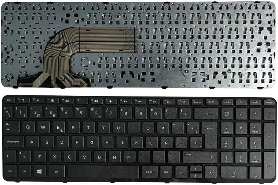 YUHUAI Reemplazo de Laptop Teclado Adecuado para HP Pavilion 15-E 15-E000 15-E100 15-F100 15-N 15-N100 15-N200 15-N000 Diseño Eespañol
