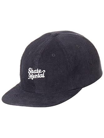 Skate Mental Gorra Ajustable Script Logo Negro-Blanco (Default ...