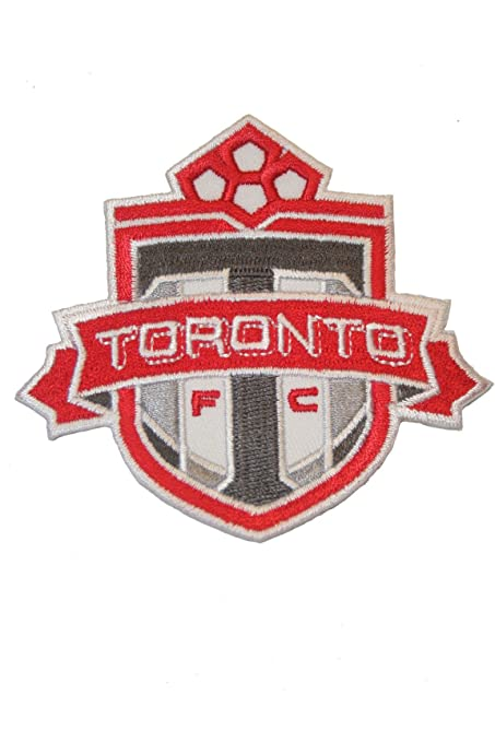 CANADA World Cup Soccer IRON-ON PATCH CREST BADGE With BLUE Word..New