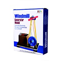 Kutuhal Do It Yourself Wind Mill Making Educational Toy Kit Windmill Generator Model 2 in 1