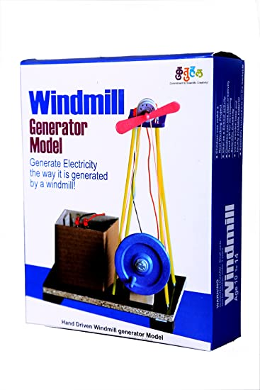 Buy do it yourself wind mill making educational toy kit windmill do it yourself wind mill making educational toy kit windmill generator model 2 in 1 solutioingenieria Image collections