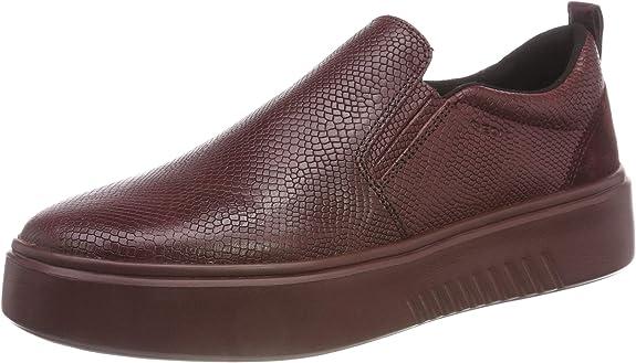 Geox D Nhenbus B, Zapatillas sin Cordones para Mujer