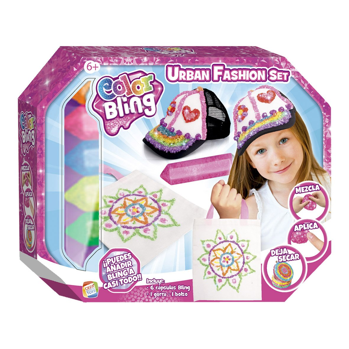 Color Bling Urban fashion set CEFA Toys