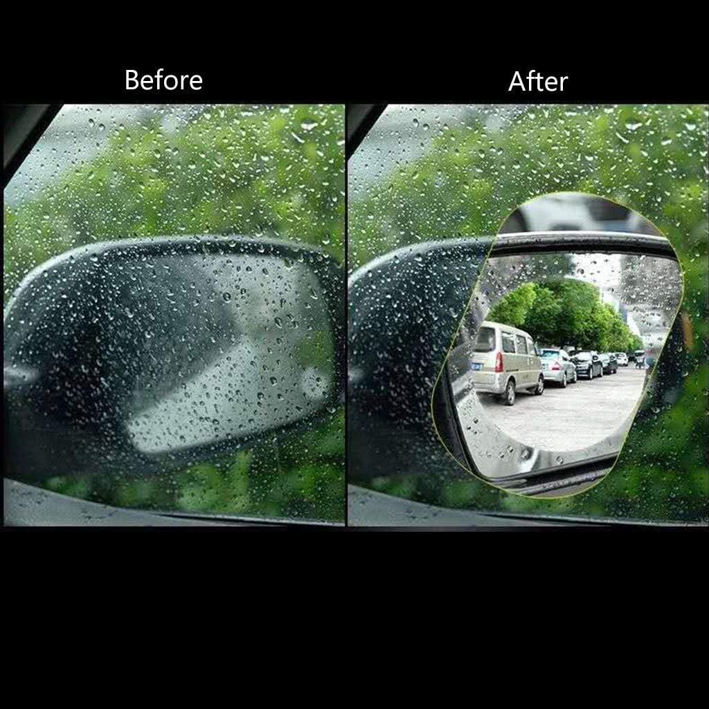Mayoaoa 1 Pair Car Rear View Mirror Waterproof Film Car Rain Proof Waterproof Anti-fog Anti-Stain Rain Proof Hydrophobic Rear View Mirror Protector a