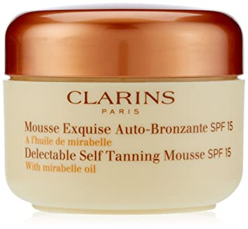 clarins tanning oil