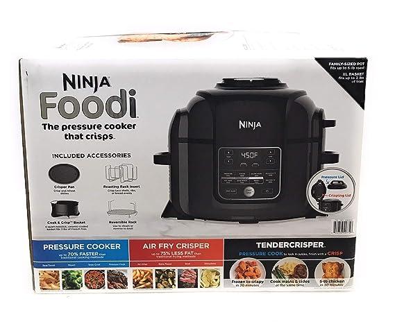Amazon.com: Ninja Foodi Pressure Cooker Family sized Pot ...